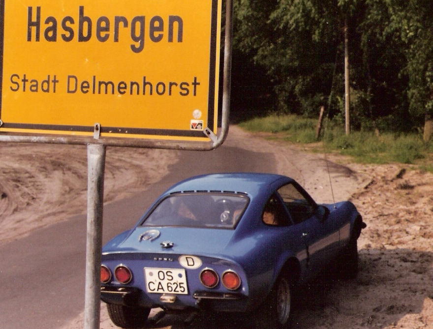 MARTINS RANCH Opel GT Hasbergen