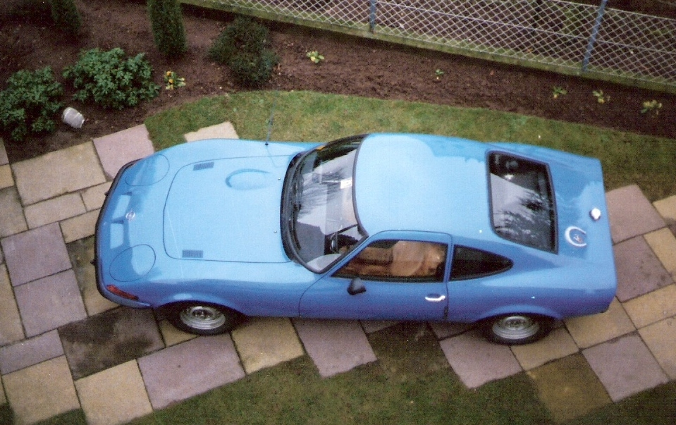 MARTINS RANCH Opel GT birdview2