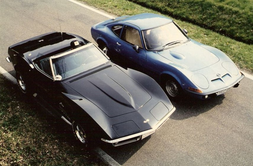 MARTIN´S RANCH Opel GT vs Stingray